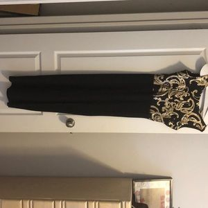 Boohoo long evening gown